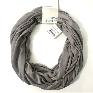 Nordstrom 14th & Union Infinity Scarf Cinder Gray